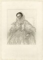 Lucy Russell (née Harington), Countess of Bedford, by R. Cooper, after  Cornelius Johnson - NPG D28091