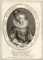 Lucy Russell (née Harington), Countess of Bedford, after Simon de Passe, published by  William Richardson - NPG D28092