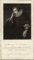 Lucy Russell (née Harington), Countess of Bedford, by Samuel Freeman, after  Gerrit van Honthorst - NPG D28094