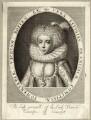 Frances, Countess of Somerset, after Simon de Passe - NPG D28098