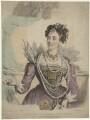Margaret Agnes Bunn (née Somerville) as Elizabeth in 'Kenilworth', by Hutchinson Jr - NPG D32386