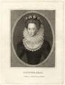 Mary Erskine (née Stewart), Countess of Mar, published by Edward Harding - NPG D28138