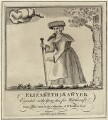 Elizabeth Sawyer, after Unknown artist, published by  James Caulfield - NPG D28157