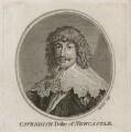 William Cavendish, 1st Duke of Newcastle-upon-Tyne, by William Sherlock - NPG D28182