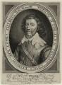 William Feilding, 1st Earl of Denbigh, by Robert van Voerst, published by  William Webb - NPG D28208