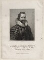 Lionel Cranfield, 1st Earl of Middlesex, by E. Bocquet, published by  John Scott, after  Ozias Humphry - NPG D28219
