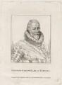 George Carew, Earl of Totnes, published by Silvester Harding, after  Unknown artist - NPG D28236