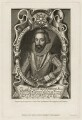 Edmund Sheffield, 1st Earl of Mulgrave, by T. Berry, printed by  McQueen (Macqueen), published by  Thomas Rodd the Elder, after  Renold or Reginold Elstrack (Elstracke) - NPG D28237