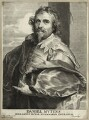 Daniel Mytens, by Paulus Pontius (Paulus Du Pont), after  Sir Anthony van Dyck - NPG D28245