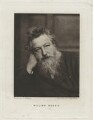 William Morris, by Swan Electric Engraving Co., after  Frederick Hollyer - NPG x3760