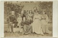Sir Edward Coley Burne-Jones, 1st Bt and William Morris with their families, by Frederick Hollyer - NPG x131265