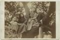 Margaret Mackail (née Burne-Jones); May Morris; Jane Alice ('Jenny') Morris; Sir Philip Burne-Jones, 2nd Bt, by Frederick Hollyer - NPG x19860