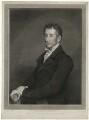 Sir Francis Burdett, 5th Bt, by William Sharp, after  James Northcote - NPG D32404
