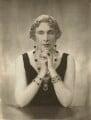 Victoria Eugenie ('Ena') of Battenberg, Queen of Spain, by Janet Jevons - NPG x45164