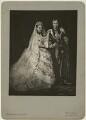 Queen Alexandra; King Edward VII, by Mayall & Co, after  John Jabez Edwin Mayall - NPG x9182