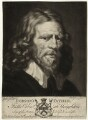 Abraham van der Doort (inscribed 'Dobson's Father'), by Valentine Green, possibly after  William Dobson, published by  John Boydell - NPG D28317
