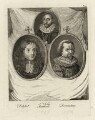 Jean Petitot, Sir Toby (Tobie) Matthew, Jan Simonsz. Torrentius (called Van der Beeck), by Alexander Bannerman - NPG D28330