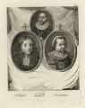 Jean Petitot, Sir Toby (Tobie) Matthew, Jan Simonsz. Torrentius (called Van der Beeck), by Alexander Bannerman - NPG D28330