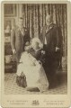 Four Generations' (King George V; Prince Edward, Duke of Windsor (King Edward VIII); Queen Victoria; King Edward VII), by Percy Lewis Pocock, for  W. & D. Downey - NPG x1574