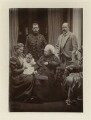 Royal family group, by Robert Milne - NPG x8482