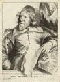 Inigo Jones, by Robert van Voerst, after  Sir Anthony van Dyck - NPG D28334