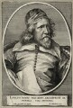 Inigo Jones, by Wenceslaus Hollar, after  Sir Anthony van Dyck - NPG D28336