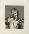 Inigo Jones, by P. Rothwell, published by  William Richardson, after  Sir Anthony van Dyck - NPG D28346