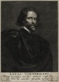 Lucas Vorsterman, by Lucas Vorsterman the Younger, after  Sir Anthony van Dyck - NPG D28355