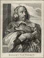 Robert van Voerst, by Thomas Chambers (Chambars), after  Sir Anthony van Dyck - NPG D28356