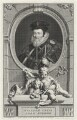William Cecil, 1st Baron Burghley, by Jacobus Houbraken, after  Unknown artist - NPG D32415