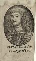 Elizabeth (née Talbot), Countess of Kent, after Unknown artist - NPG D28398