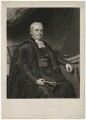 Reverend Burland, by Charles Turner, probably after  John Graham Gilbert - NPG D32433
