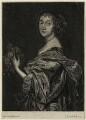 Katherine Livingston (née Howard), Viscountess Newburgh, by Johannes Gronsveld (Gronsvelt, Groensveld), after  Sir Anthony van Dyck - NPG D28426
