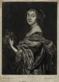 Katherine Livingston (née Howard), Viscountess Newburgh, by Johannes Gronsveld (Gronsvelt, Groensveld), after  Sir Anthony van Dyck - NPG D28427