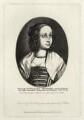 Katherine Livingston (née Howard), Viscountess Newburgh, by Richard Sawyer, after  Wenceslaus Hollar - NPG D28438