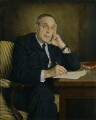 Sir Siegmund George Warburg, by Raymond Leslie Skipp - NPG 6821