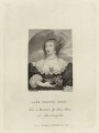Venetia, Lady Digby, by Andrew Birrell, published by  Silvester Harding, after  Isaac Oliver - NPG D28448