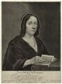Anna Maria van Schurman, by Jonas Suyderhoef, after  Jan Lievens - NPG D28459