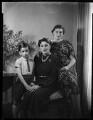 Hon. Mrs Johnstone with her children, by Bassano Ltd - NPG x152397