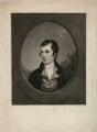 Robert Burns, by John Christian Zeitter, after  Alexander Nasmyth - NPG D32440