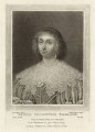 Lettice Cary (née Morison), Viscountess Falkland, by Charles Turner, published by  Samuel Woodburn, after  Cornelius Johnson - NPG D28479