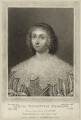 Lettice Cary (née Morison), Viscountess Falkland, by Charles Turner, published by  Samuel Woodburn, after  Cornelius Johnson - NPG D28480