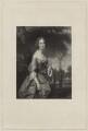 Mrs Burr, by Benjamin Rawlinson Faulkner, after  William Henry Mote - NPG D32446
