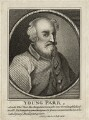 Thomas Parr, after Unknown artist, published by  Isaac Herbert - NPG D28509