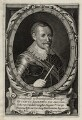 Gustavus Adolphus, King of Sweden, published by Franciscus van Hoeye (Hoeius, Hoejus) - NPG D28559