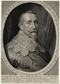 Gustavus Adolphus, King of Sweden, by Willem Jacobsz Delff, after  Michiel Jansz. van Miereveldt - NPG D28562