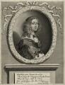 Christina, Queen of Sweden, by Robert Nanteuil, after  Sébastien Bourdon - NPG D28578