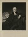 Edward Burton, by Henry Cousins, after  Philip Corbet - NPG D32457