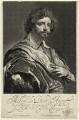 Michael le Blon, by Theodor Matham, after  Sir Anthony van Dyck - NPG D28606