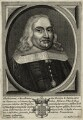 Stephen de Gamarra, by Cornelis Meyssens, published by  Johannes Meyssens - NPG D28610